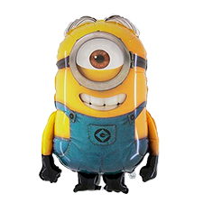 Minion Stuart Supershape Foil Balloon Bouquet