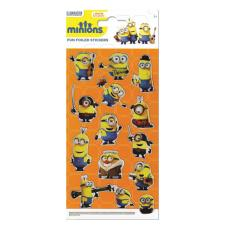 Minions Movie Fun Foiled Re-Usable Sticker Pack