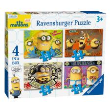 4 in a Box Minions Jigsaw Puzzles
