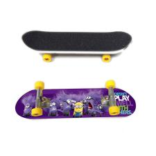 Evil Minions Purple Finger Skateboard