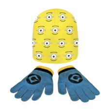 Minions One Size Kids Hat & Gloves Set