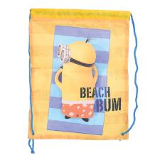 Beach Bum Minions Drawstring Bag
