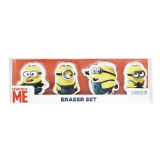 Minion Set of 4 Erasers