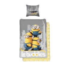 Le Buddies Minions Grey Single Duvet Cover Set