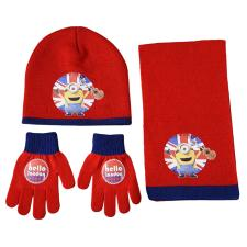 Hello London Minions Hat Gloves & Scarf Set