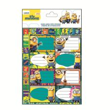 Minions Name Labels with Stickers