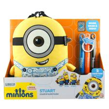 Colour n Glow Large Glow In The Dark Minion Stuart Plush