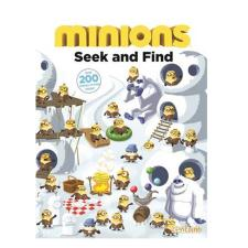 Minions A4 Seek and Find Paperback Book