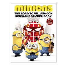 The Road to Villain-Con Minions A4 Sticker Book