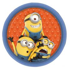 Minions Paper Plates (Pack of 8)