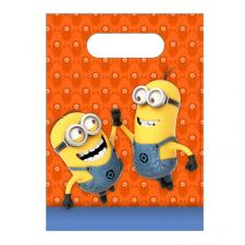 Minions Plastic Party Bags (Pack of 6)