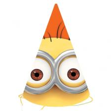 Minions Paper Party Hats (Pack of 6)