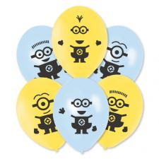 Minions Party Balloons (Pack of 6)