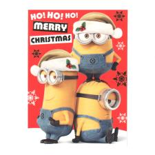 Minions Merry Christmas Card