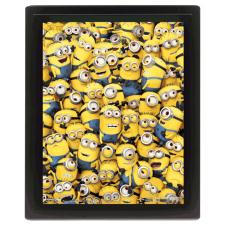 3D Many Minions Limited Edition Framed Picture