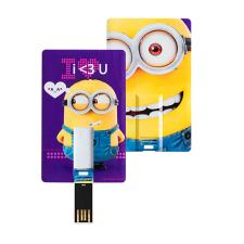 Purple Minions 8GB USB Flash Pen Drive Card