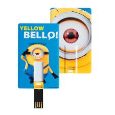 Bello Yellow 8GB Minions USB Flash Pen Drive Card