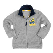 Minions Grey Zipped Fleece Sweatshirt