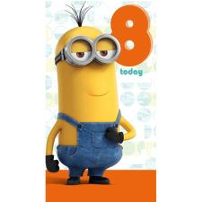 8 Today Minions Birthday Card