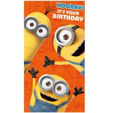 Hooray It's Your Birthday Minions Card