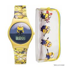 Minions Digital Watch & Pencil Case Set
