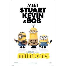 I'm With Stupid Minions Maxi Poster