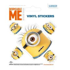 Minions Faces Vinyl Stickers