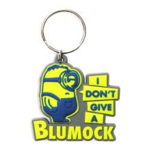 I Don't Give A Blumock Minions Rubber Key Ring