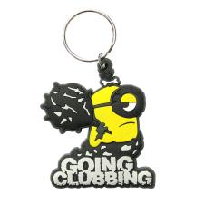 Going Clubbing Minions Rubber Key Ring