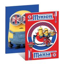 2 x A5 Minions Exercise Books