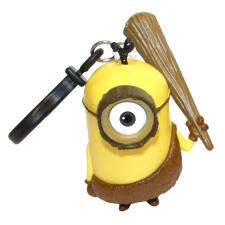 Minion Caveman 3D Minions Clip On Key Ring