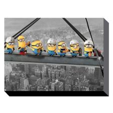 Minions Lunch On A Skyscraper Canvas Print (60cm x 80cm)