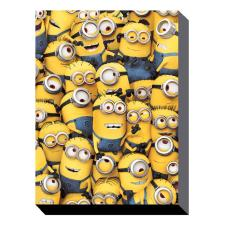 Many Minions Canvas Print (30cm x 40cm)