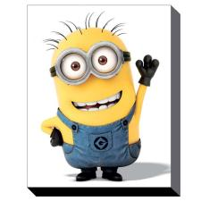 Minion Wave Canvas Print (85cm x 120cm)