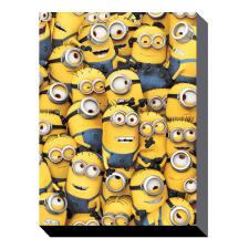 Many Minions Canvas Print (85cm x 120cm)