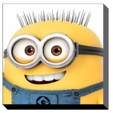 Minions Jerry Close Up Canvas Print (60cm x 60cm)