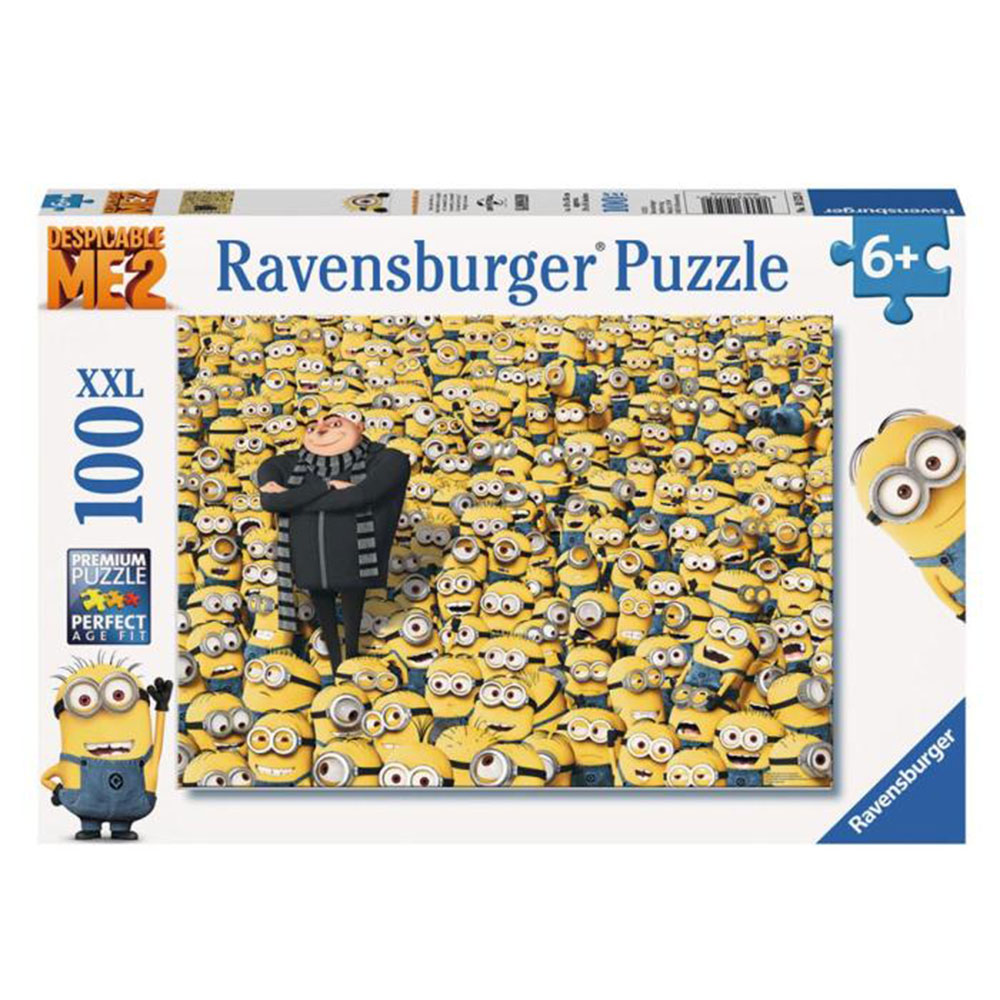 Minions and Gru XXL 100pc Minions Jigsaw Puzzle  Minion Shop