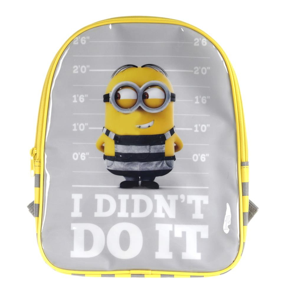 ae6da454ca8f Minions I Didnt Do It Junior Backpack £8.99