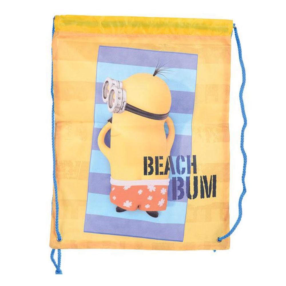 Beach Bum Minions Drawstring Bag | Minion Shop.