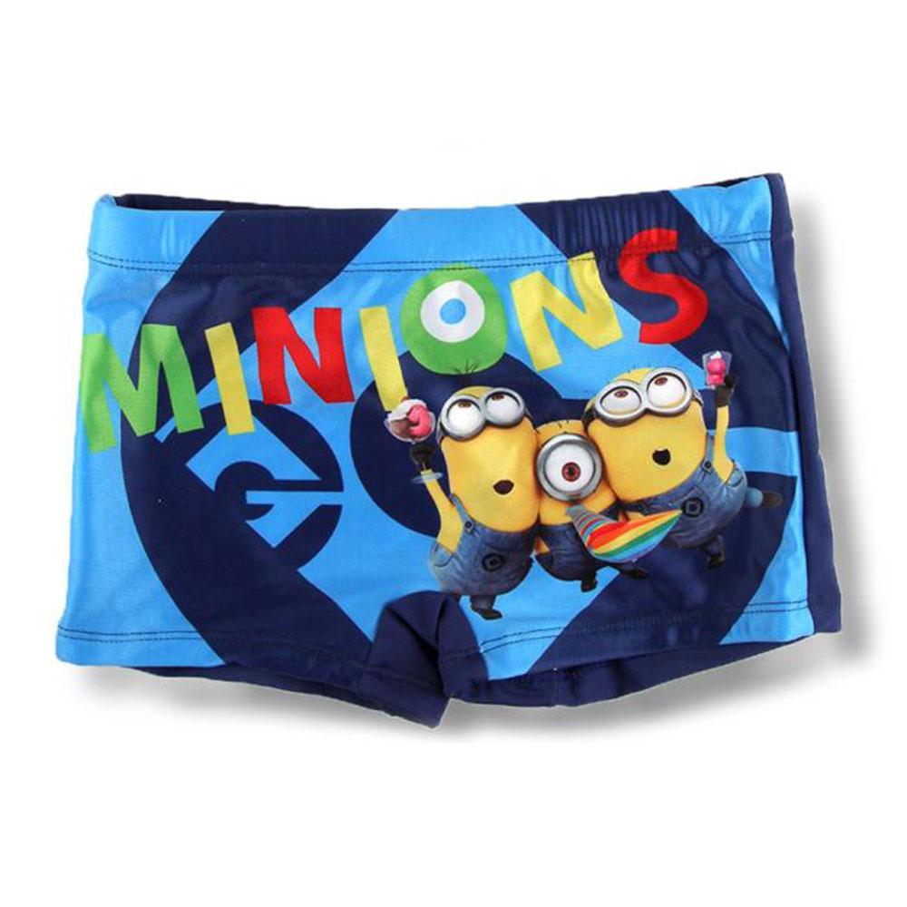 1c9ad7e625 Minions Celebrating Blue Swimming Trunks   Minion Shop.