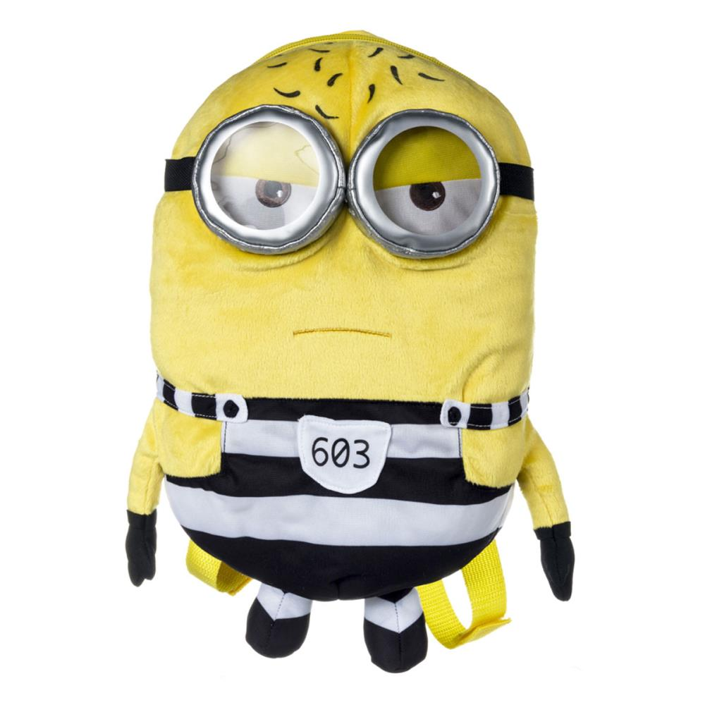 b95c7eb3ed99 Minion Tom In Jail Minions Plush Backpack £24.99
