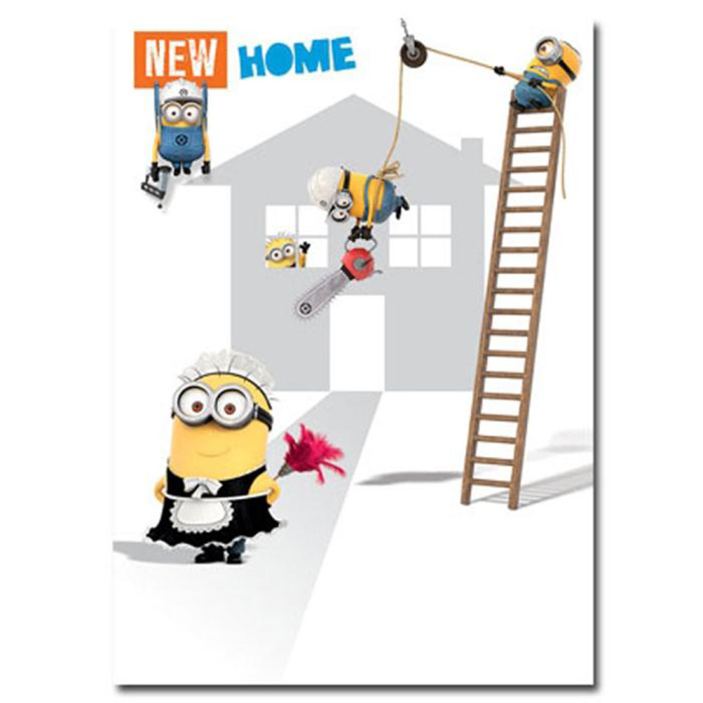 New Home Congratulations Minions Card Minion Shop