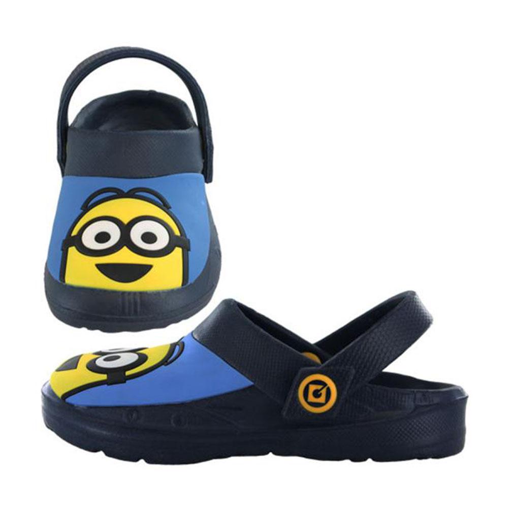 Kids Minions Crocs Style Slip On Clogs