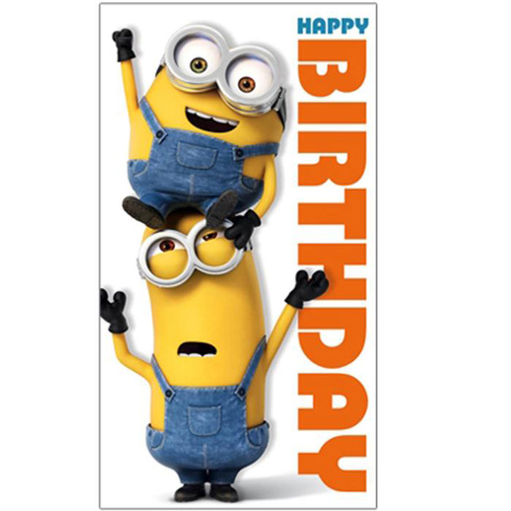 Happy Birthday Minions Card | Minion Shop.