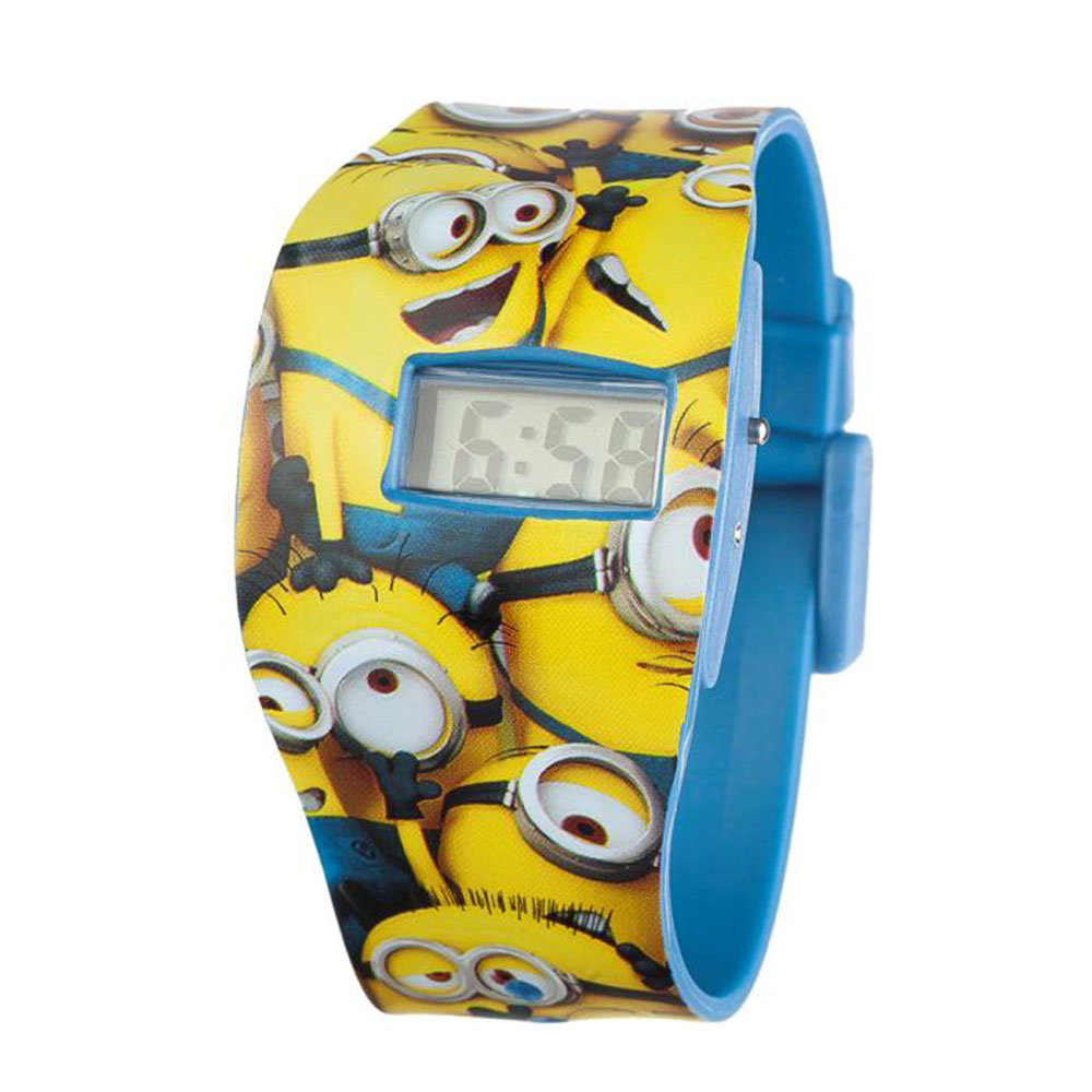 minions all over print digital watch 799