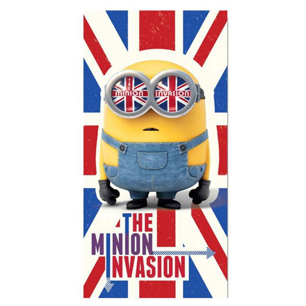 The Minion Invasion Minions Beach Towel Minion Shop