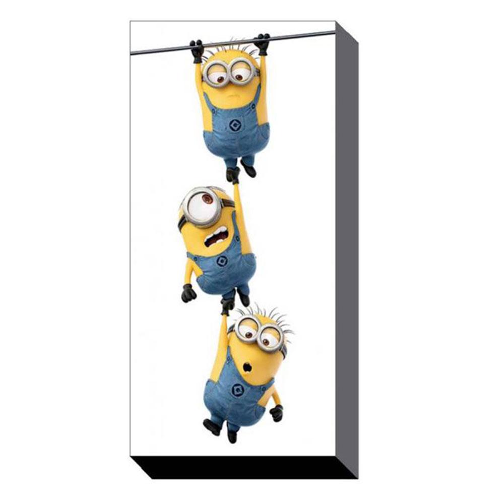Hanging Minions Canvas Print (50cm x 100cm)