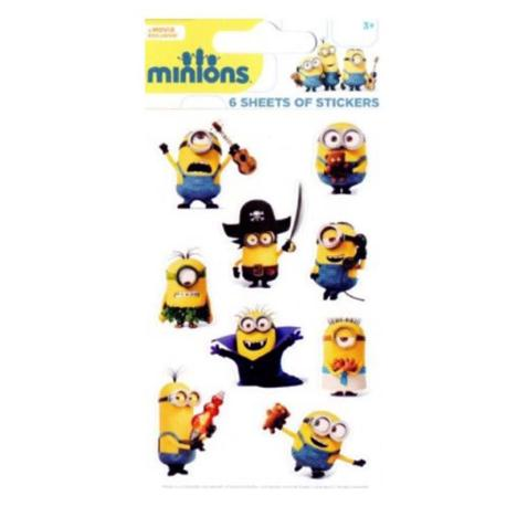 Minions Sticker Sheets Party Pack  £1.69