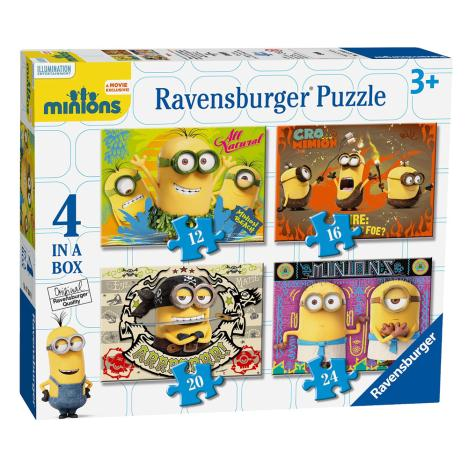 4 in a Box Minions Jigsaw Puzzles  £5.99