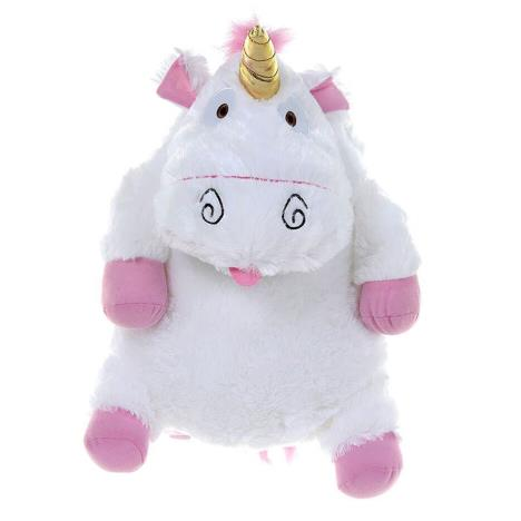 Fluffy Unicorn Despicable Me Plush Backpack  £24.99